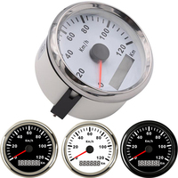 85mm GPS Speedometer Waterproof Universal 120 km/h Red Backlight tuning auto tachometer for bmw e46 motorcycle yacht boat moto