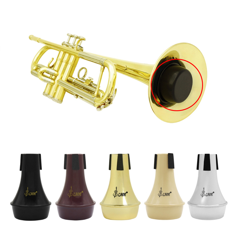1Pc Trumpet Accessories Trumpet Mute Alto Tenor Trombone Trumpet Straight Mute Silencer Sourdine Brass Parts O11 19 Dropship