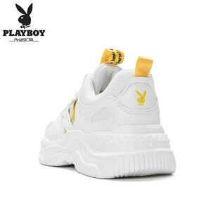 Image 4 - PLAYBOY ผู้ชายรองเท้าลำลองรองเท้ากลางแจ้งผู้ชายรองเท้าสบายรองเท้าผ้าใบแฟชั่นผู้ชายเดินรองเท้า Zapatillas PL615122