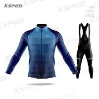 2020 zestaw koszulek kolarskich z długim rękawem Pro Team MTB odzież męska wiosna jesień Pro uniform dla drużyny odzież rowerowa szosowa Quick Dry w Zestawy rowerowe od Sport i rozrywka na