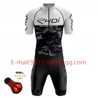 ekoi men bike clothes summer cycling outfit 2019 triathlon pro race suit mtb Jersey set shorts road bicycle tights rode racing