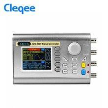 цена на Cleqee JDS2900 15MHz Digital Control Dual Channel DDS Function Signal Generator Arbitrary Waveform 2 Channel