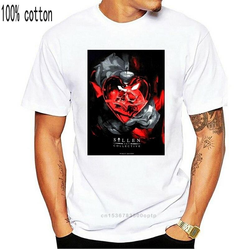 Maglietta da uomo Sullen Heart Hip-Hop abbigliamento abbigliamento