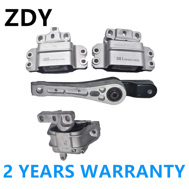 Engine Rear&Front Transmission Motor Mount Mounting 1K0199855AE For Audi A3 S3 For VW Golf Jetta Touran 1K0199555N 1K0199262M 1