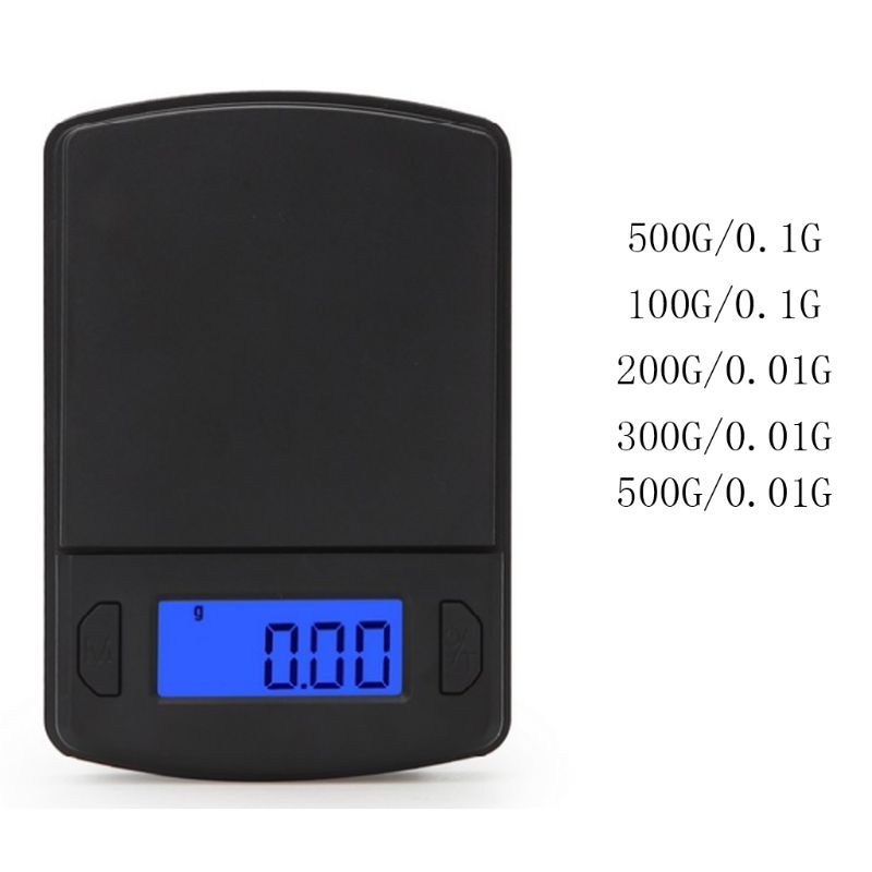 1pc 0.1/<font><b>0.01g</b></font> Mini <font><b>Digital</b></font> <font><b>Scale</b></font> High Precision for Weighing Powder Jewelry Carat image