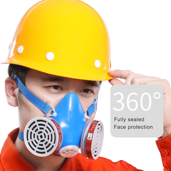 3100 Dust Masks mouth mask Protection Mask PM2.5 Industrial Painting Spraying Respirator Safety Work Filter Gas Mask high quality respirator gas mask modular strengthen protection protective mask painting pesticide industrial safety gasmaske