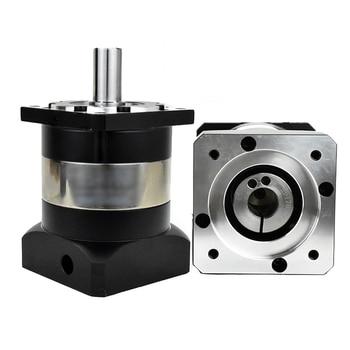 Caja de cambios planetaria NEMA32 80mm 1001 Ratio de velocidad 100 reductor de alta precisión 20MM salida 6000rpm para Servo Motor CNC