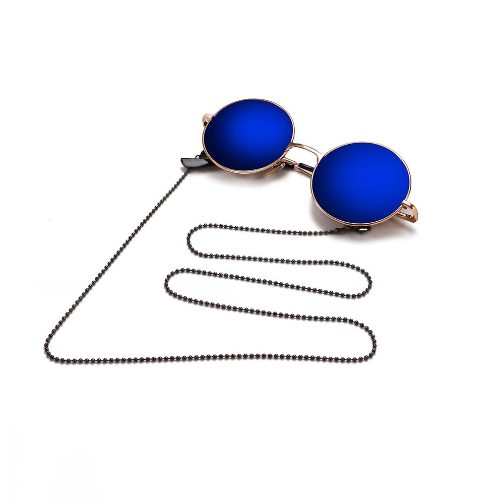 Retail Nice Metal eyeglasses chain eyewear glasses sunglasses cord holder 3 different colors-in Eyewear Accessories from Apparel Accessories