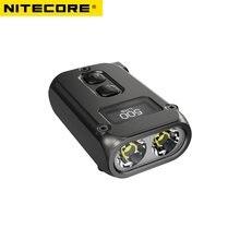 Nitecore tini2 500 lumens oled inteligente duplo-núcleo chave luz, tecnologia de sono apc, longa espera, usando usb tipo-c de carregamento