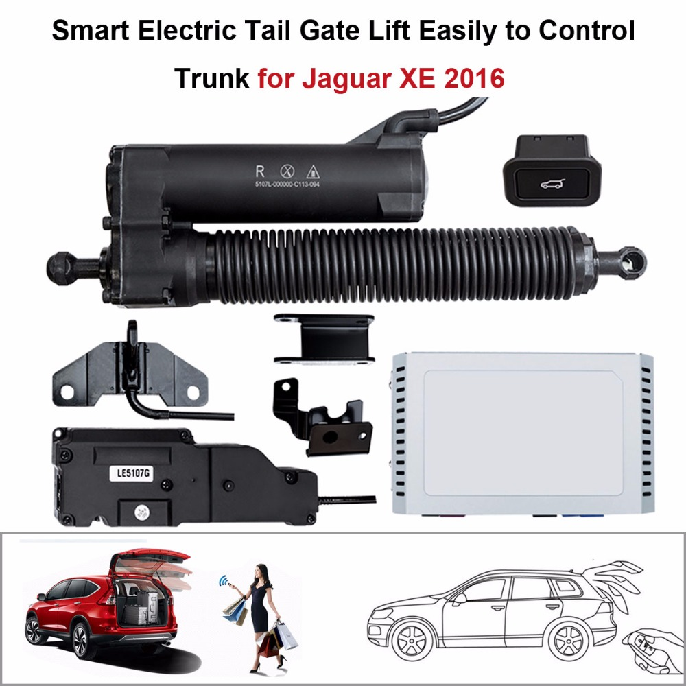Car Electric Tail Gate Lift For Jaguar XE 2016 Control By Remote
