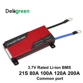 21S 80A 100A 120A 150A 200A 250A PCM/PCB/BMS 72V 18650 lithium 3.7V LiNCM battery pack for electric bicycle and scooter