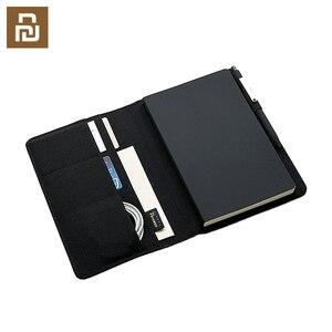 Image 1 - Chaud pour Xiaomi Mijia Smart Home Kaco Noble papier cahier PU cuir carte fente portefeuille livre pour bureau voyage daffaires avec cadeau