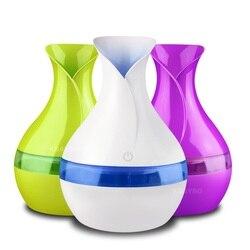 Elektryczny aroma dyfuzor olejków eterycznych 300ml USB Mini ultradźwiękowy nawilżacz powietrza mgła aromaterapeutyczna maker dla home office