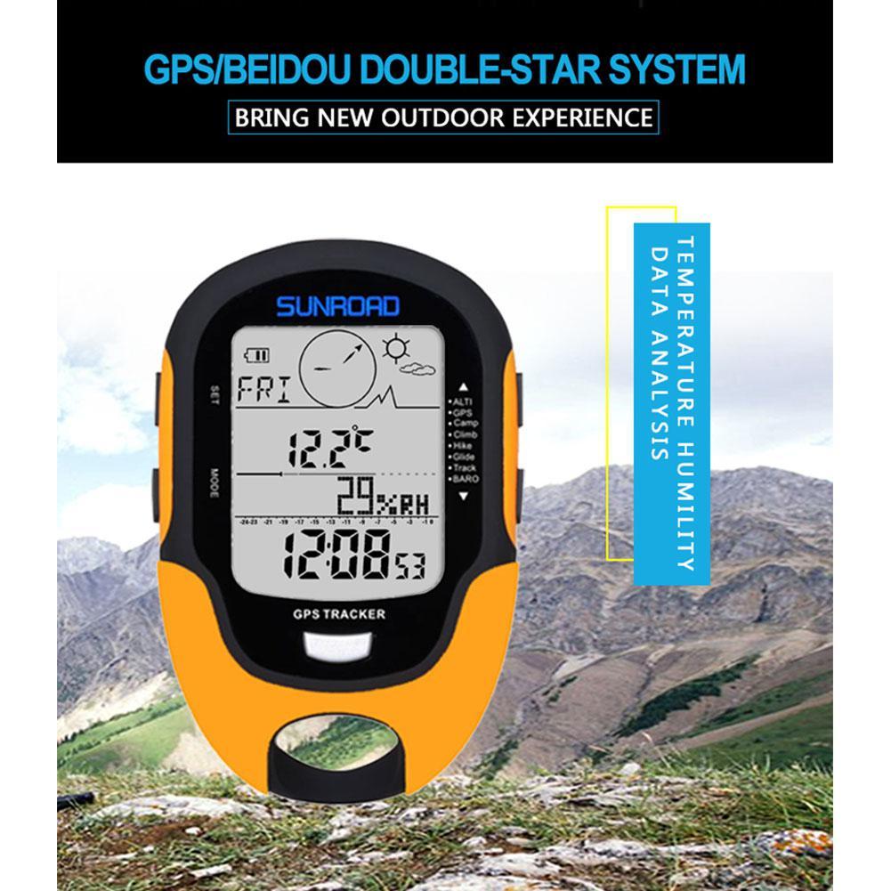 Gps navegação rastreador esporte relógio digital horas