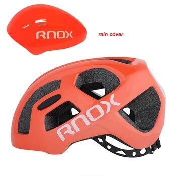 2019 RNOX Ultraleicht Radfahren Helm Straße Reiten Fahrrad Helme 55-61cm Erwachsene Männer Frauen Bike Regen Abdeckung Helm casco Ciclismo