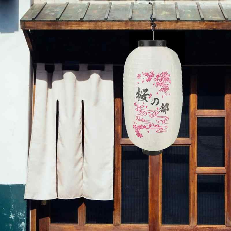 10 cal tradycyjny styl japoński wisząca latarenka kot na szczęście Chochin Pub wodoodporny restauracja Bistro strona dekoracji