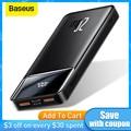 Baseus Power Bank 20000mAh/30000mAh/10000mAh PD Schnelle Aufladen Power Tragbare Ladegerät Für iPhone 11 12 Pro Max Xiaomi