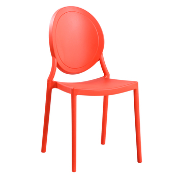 Modern minimalist back chair home dining chair adult nordic leisure creative stool american retro plastic chair