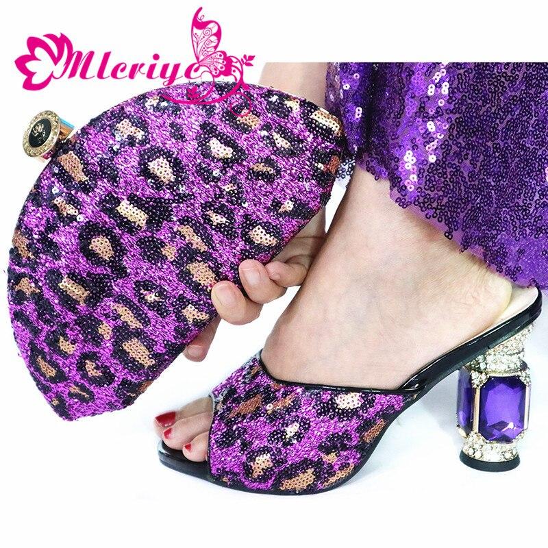 2019 модный итальянский дизайн обувь на высоком каблуке обувь и сумка в комплекте в нигерийском стиле; комплект из туфель и сумочки в белом цвете; женские вечерние туфли и сумочка в комплекте - 5