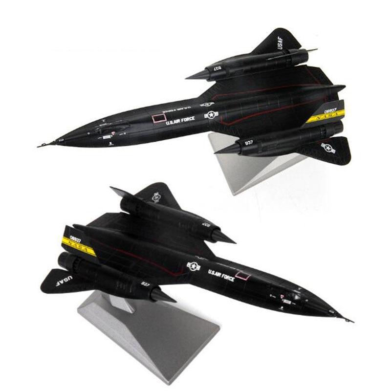 aviao aviao modelo 1 144 sr 71a lockheed blackbird aviao liga modelo diecast 1 144 avioes