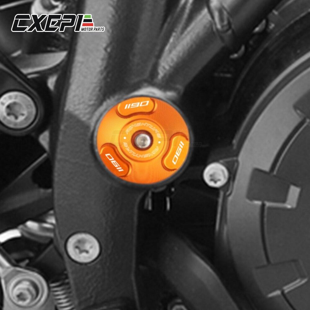 Image 2 - NEW For KTM 1050 1090 1190 1290 Adventure ADV 1290 Super Duke R  2013 2017 2019 Motorcycle Frame Hole Cap Plug Frame Insert CoverCovers