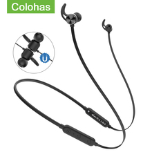 Słuchawki bezprzewodowe Headest V4 1 IP5X wodoodporne słuchawki bezprzewodowe Bluetooth douszne słuchawki magnetyczne sportowe słuchawki bezprzewodowe tanie tanio Colohas Dynamiczny wireless Ucho Wspólna Słuchawkowe Dla Telefonu komórkowego Słuchawki HiFi Instrukcja obsługi Kabel do ładowania