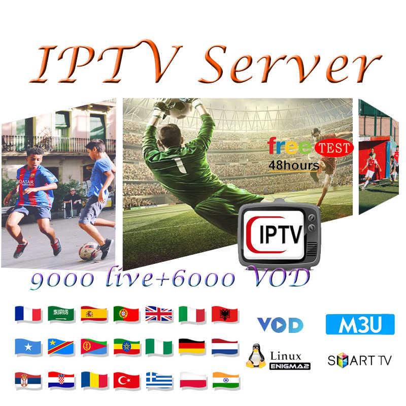 Best stable Belgium IPTV 9000 live channel 1 Year iptv