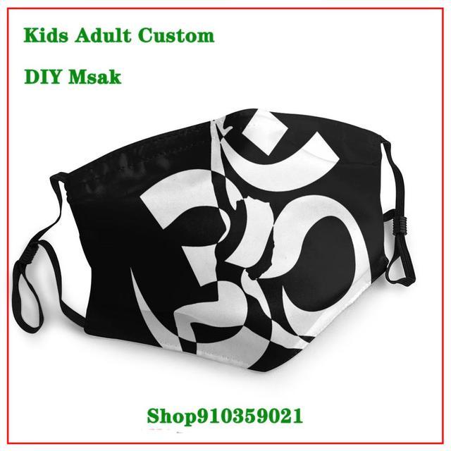 OCCUPY White Grey  DIY mondmasker  Latest design masque facial lavable   New Arrival cloth face masks    High Quality face mask