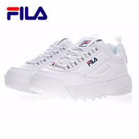 2019 Fila Disruptor II 2 Women Sneaker Running Shoes White brown and white summer Increased Outdoor Sneaker