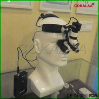 High Quality Dental Headlight (6X Optional) Surgical loupes with High brightness 5W Medical Surgical