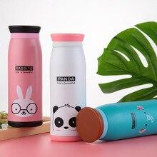 Классический большой живот вакуумный термос чашка из нержавеющей стали мультфильм студента изоляции бутылки для воды ребенок подарок Изолированная бутылка