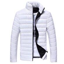 2019 New Winter Jackets Parka Men Autumn Winter Warm Outwear Brand Slim Mens Coa