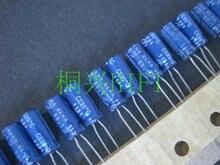 50 個新 ELNA RE3 50V1UF 5 × 11 ミリメートルオーディオ電解コンデンサ 1 uF/50 V ブルーローブ 1UF 50V re3 50v 1 μ f