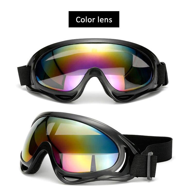 Motorcycle Accessories Glasses Anti Glare Motocross Sunglasses Sports Ski Goggles Windproof Dustproof UV Protective Gears TSLM2