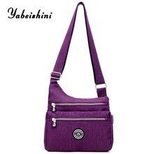 цены New nylon bags for women 2019 crossbody bags for women shoulder bag bolsos mujer de marca famosa sac a main femme Shopping Bag