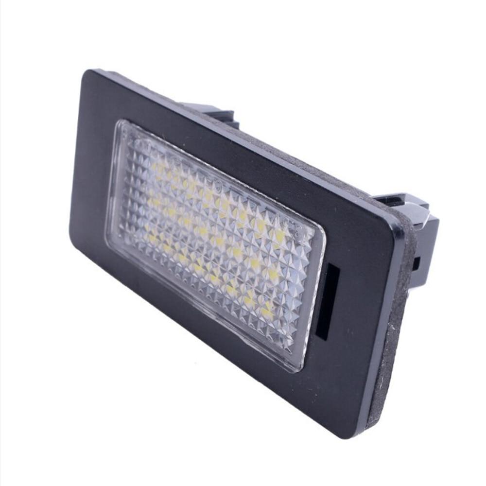 LED Light Licenses Plates Lights Bulb Taillight DC 12V For BMW E39 E60 E82 E70 E90 E92 X3 5 6 License Plate Lighting