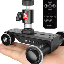 Camera-Slider Dolly Phone-Camcorder Car-Rail-Systems KINGJOY Dslr Time-Lapse Motorized
