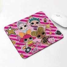ЛОЛ Сюрприз куклы милые подарки для девочек резиновые мультфильм настольный коврик аниме рисунки рисунок компьютера офис портативный мышь