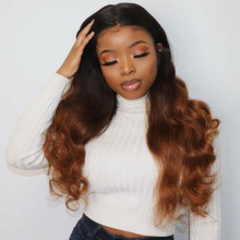 13*6 Deep Part Lace Front Human Hair Wigs Purple Color Body Wave Wig  150% PrePlucked Brazilian Remy  Wigs For Black Women