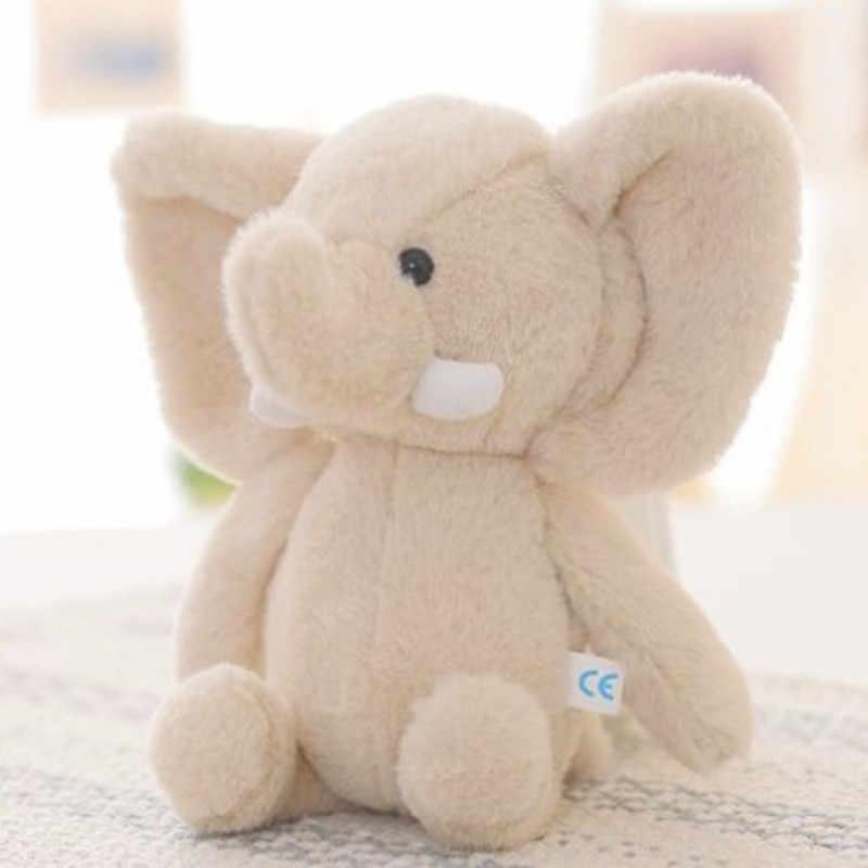 20CM Elefant Gefüllt Tiere Puppe Neueste Baby Kind Jungen Mädchen Niedlichen Tier Weiche Plüsch Spielzeug Mini Elefant Stofftier puppe Geschenk