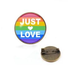 LGBT Pins Transgender Pride Rainbow Gay Intersex Asexual Lapel Love Is Bisexual Pansexual Panromantic Tin Badge