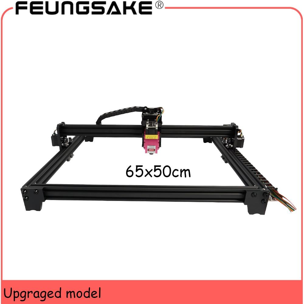 Clearance SaleLaser-Machine Pmw-Control 5500mw Cnc 15w TTL 7w 6550 Work-Area 65--50