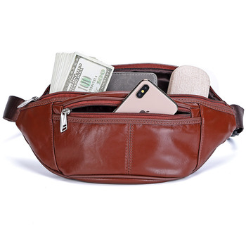Fashion Genuine Leather Waist Packs Fanny Pack Bags Large Phone Pouch Bags Travel Waist Pack Male Waist Bag Leather Pouch bosikas new genuine leather waist packs leather bag belt men phone pouch bags zipper travel waist pack vintage male waist bag