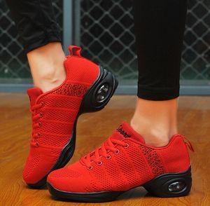 Image 3 - Thời Trang Mùa Xuân 2020 Dance Thường Không Lưới Giày Chaussure Femme Thể Thao Phẳng Nền Tảng Cho Nữ Zapatos Mujer