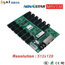 Full-colorAsync controllers MRV336 Resolution 512*128 RGB RGB Data Output  32 groups HUB75 Interface Integrates 12 standard стойки волейбольные haspo standard 924 512