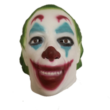 Horror Smile Clown Mask Killer Halloween Terror Joker Movie Batman Full Face Latex