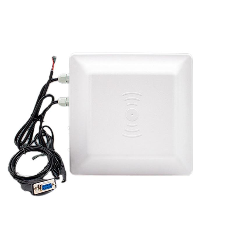 R16-7DB Waterproof UHF RFID Long Range Card Reader For Parking System Access Control(EU Plug)