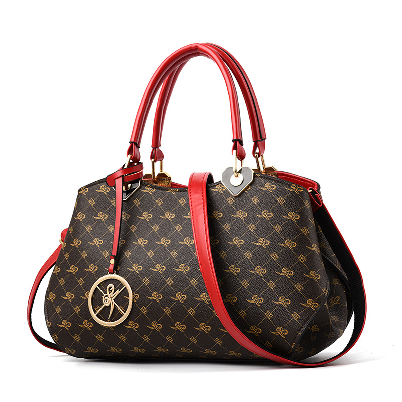 Luxury Women Handbags Leather Designer Pattern Shoulder Bag Fur Ball Ladies Tote Bag Female Messenger Bags For Women 2019The New