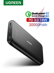 Ugreen Power-Bank External-Battery Fast-Phone-Charger Quick-Charge Xiaomi 20000mah iPhone 11
