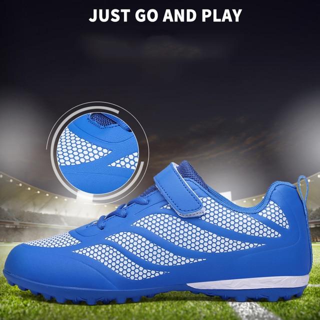 Taobo γυναικεία παιδικά ποδοσφαιρικά παπούτσια για χλοοτάπητα 5x5
